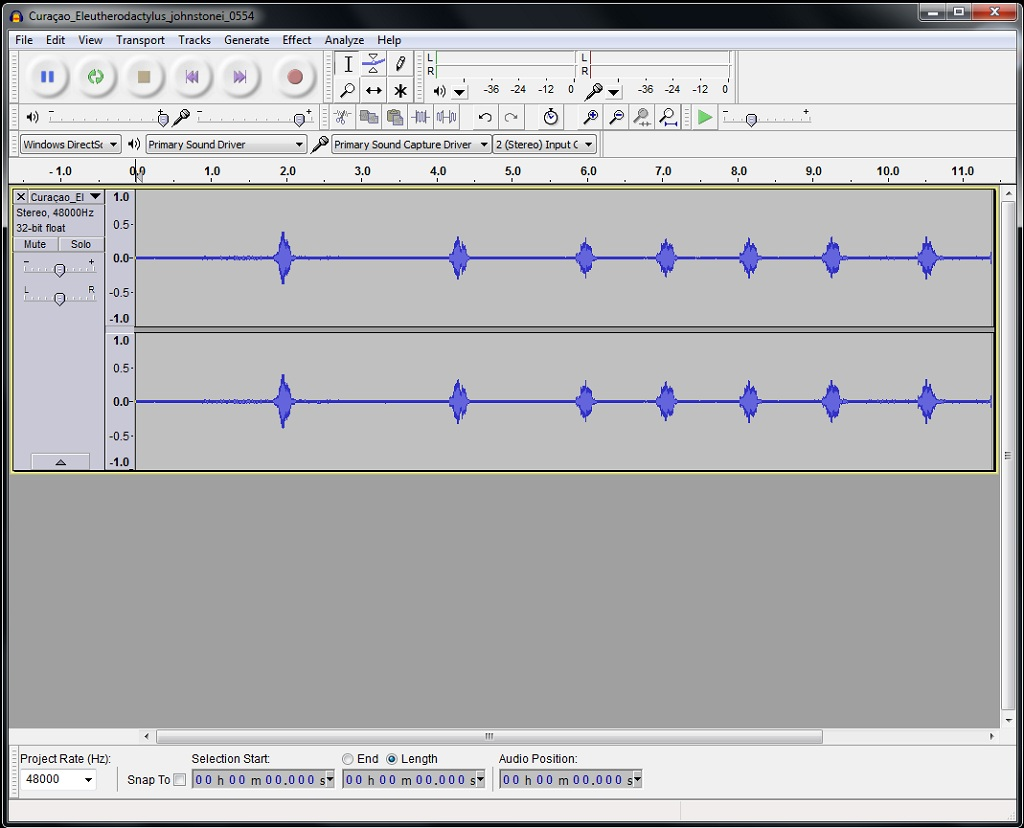Cleaning Up Frog Call Recordings with Audacity - Field Herp